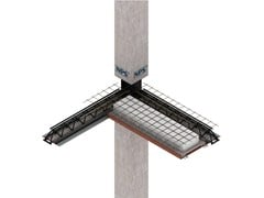 - Mixed steel-concrete beam and column NPS® BRICK - Tecnostrutture