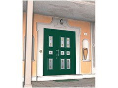 - Glass and aluminium armoured door panel ERIDANO/KS3+ERIDANO/K6 - ROYAL PAT
