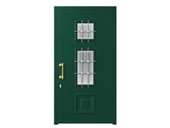 - Glass and aluminium armoured door panel MIRANDA/K2 - ROYAL PAT