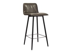 - Upholstered fabric counter stool with footrest MAVERICK CASUAL | Counter stool - KFF