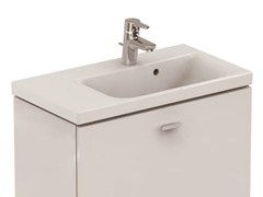- Rectangular washbasin with integrated countertop CONNECT SPACE - E1327 - Ideal Standard Italia