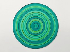- Round outdoor rugs ZOE REV - Paola Lenti