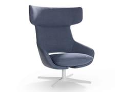 - Swivel armchair with 4-spoke base KALM | Swivel armchair - Artifort