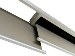- Fabric roller blind LINEO DOUBLE MODULE WITH OVERLAP - RESSTENDE