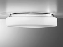 Lampada da soffitto in vetroDRUM | Lampada da soffitto - AILATI LIGHTS BY ZAFFERANO