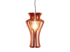 - Direct-indirect light plate pendant lamp BURLESQUE | Pendant lamp - Colico