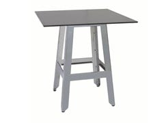 - Stainless steel contract table MARTINO-4 - Vela Arredamenti