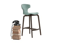 - Counter stool MONTERA | Counter stool - Poltrona Frau