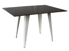- Steel contract table TV-TONIC-4-80-RAL - Vela Arredamenti