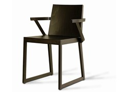 - Wooden restaurant chair SD-QUENTIN-B - Vela Arredamenti
