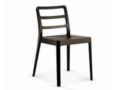 - Wooden restaurant chair SD-MERIGGIO - Vela Arredamenti