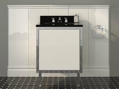 - Lacquered single vanity unit with doors JAZZ | Vanity unit - Devon&Devon