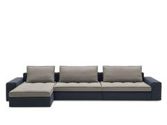 - Sectional fabric sofa LOUNGE MIX 01 - Calligaris