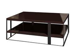 - Rectangular wooden coffee table FLOW | Rectangular coffee table - Nube Italia
