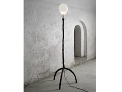 - Halogen blown glass floor lamp DAS POP | Blown glass floor lamp - Lasvit