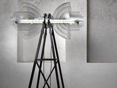 - Borosilicate glass floor lamp TRANSMISSION | Floor lamp - Lasvit