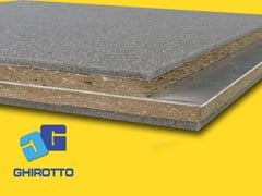 - Sound insulation and sound absorbing felt with lead-laminate PIOMBOPAN SN 06 - GHIROTTO TECNO INSULATION