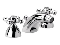 - 3 hole countertop chromed brass bidet tap REVIVAL | Countertop bidet tap - Daniel Rubinetterie