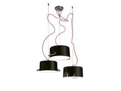 - Aluminium pendant lamp POTS 3 - Minacciolo