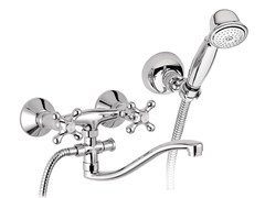 - Washbasin tap / bathtub tap REVIVAL | Bathtub tap with hand shower - Daniel Rubinetterie
