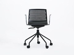 - Task chair with 5-Spoke base with casters DASH | Task chair - Grado Design Furnitures