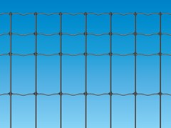 - Electrically welded mesh Fence EXECUTIVE PLUS ANTRACITE - Siderurgica Ferro Bulloni