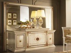 Madia in legno con ante a battente con specchioLEONARDO | Madia con specchio - ARREDOCLASSIC