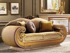 - 2 seater fabric sofa LEONARDO | Sofa - Arredoclassic
