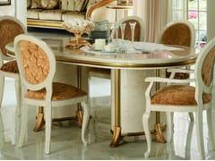 Tavolo da pranzo ovale in legno in stile classicoMELODIA | Tavolo - ARREDOCLASSIC
