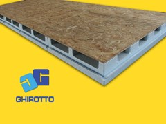 - Ventilated roof system AIRVENT 28 PANNELLONE - GHIROTTO TECNO INSULATION
