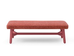 - Upholstered fabric bench CROISSANT | Upholstered bench - BILLIANI