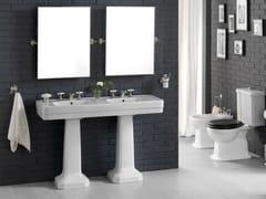 - Double pedestal washbasin 9130 | Pedestal washbasin - BLEU PROVENCE