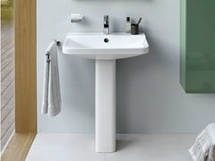 - Single pedestal washbasin P3 COMFORTS | Pedestal washbasin - DURAVIT