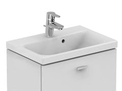 - Inset rectangular washbasin CONNECT SPACE - E1324 - Ideal Standard Italia