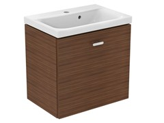 - Wall-mounted vanity unit with drawers CONNECT SPACE - E0313 - Ideal Standard Italia