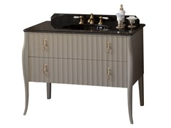 - Lacquered vanity unit with drawers CHARLOTTE | Vanity unit - GENTRY HOME