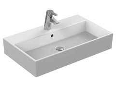 - Rectangular single ceramic washbasin STRADA - K0782 - Ideal Standard Italia