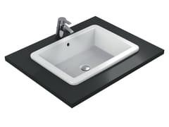 - Inset rectangular washbasin STRADA - K0780 - Ideal Standard Italia