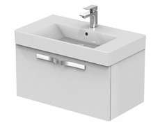 - Single wall-mounted vanity unit with drawers STRADA - K2659 - Ideal Standard Italia