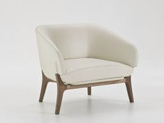 - Leather armchair with armrests SAVILE ROW | Leather armchair - i 4 Mariani