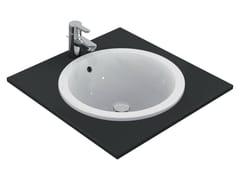 - Inset round washbasin CONNECT 48 x 48 cm - E5053 - Ideal Standard Italia