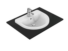 - Inset single washbasin CONNECT 55 x 46 - E7978 - Ideal Standard Italia