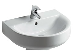 - Single wall-mounted washbasin CONNECT 65 x 46 cm - E7732 - Ideal Standard Italia