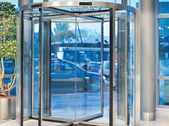 - Revolving entrance door PORTE GIREVOLI KONE 100 - KONE