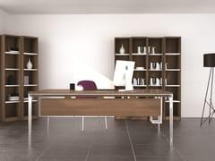 - Rectangular aluminium writing desk DADA | Writing desk - Grado Design Furnitures
