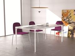 - Rectangular aluminium table DADA | Aluminium table - Grado Design Furnitures