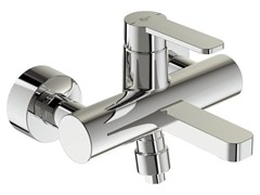 - Wall-mounted single handle bathtub mixer with temperature limiter GIÒ - B0621 - Ideal Standard Italia