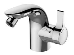 - Countertop single handle bidet mixer with temperature limiter MELANGE - A6119 - Ideal Standard Italia