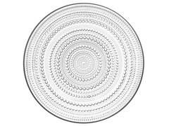 - Blown glass plate KASTEHELMI | Plate - iittala