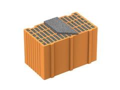 - Loadbearing clay block NORMABLOK PIÙ S40 - Normablok